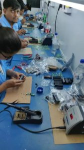 mobile charger manufacturing process